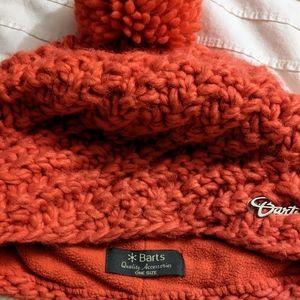 Barts wool-blend pom pom beanie